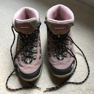 HI-TEC Bandera waterproof suede hiking boots